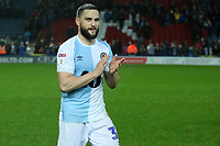 Blackburn Rovers' Craig Conway at the end of todays match<br /> <br /> Photographer Rachel Holborn/CameraSport<br /> <br /> The EFL Sky Bet Championship - Blackburn Rovers v Sheffield Wednesday - Saturday 1st December 2018 - Ewood Park - Blackburn<br /> <br /> World Copyright © 2018 CameraSport. All rights reserved. 43 Linden Ave. Countesthorpe. Leicester. England. LE8 5PG - Tel: +44 (0) 116 277 4147 - admin@camerasport.com - www.camerasport.com