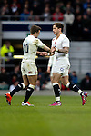 England's Danny Cipriani comes on for England's George Ford - RBS 6 Nations - England vs Italy - Twickenham Stadium - London - 14/02/2015 - Pic Charlie Forgham-Bailey/Sportimage