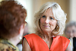 Luncheon at the Vice Presidential Mansion with Jill Biden