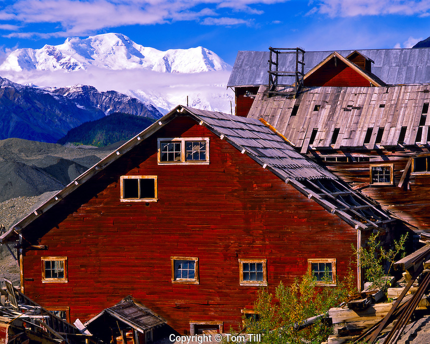 Kennicott Copper Mining Ghost Town, 1911-38, Wrangell - St. Elias National Park & Preserve, Alaska