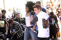 Justin Bieber performs on NBC's Today Show Toyota Concert Series in New York City. June 15, 2012. &copy; RW/MediaPunch Inc. /NORTEPHOTO.COM<br /> <br /> **SOLO*VENTA*EN*MEXICO**<br /> **CREDITO*OBLIGATORIO** <br /> *No*Venta*A*Terceros*