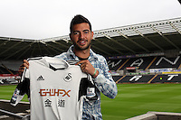 Pictured: New signing for Swansea City FC Jordi Amat. <br />