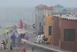 Venetian in fog in Capitola