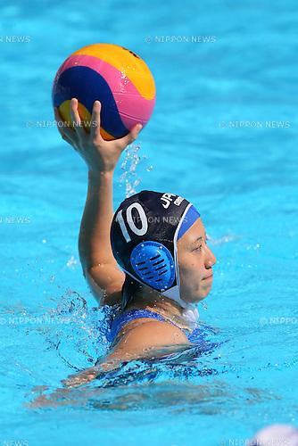 Tsubasa Mori (JPN), <br /> JULY 28, 2015 - Water Polo :<br /> 16th FINA World Championships Kazan 2015<br /> Men's Preliminary Round<br /> match between Brazil 11-8 Japan<br /> at Water Polo Arena in Kazan, Russia.<br /> (Photo by Yohei Osada/AFLO SPORT)