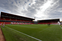 Interior view of the ground prior to the Sky Bet Championship match between Barnsley and Swansea City at Oakwell Stadium, Barnsley, England, UK. Saturday 19 October 2019