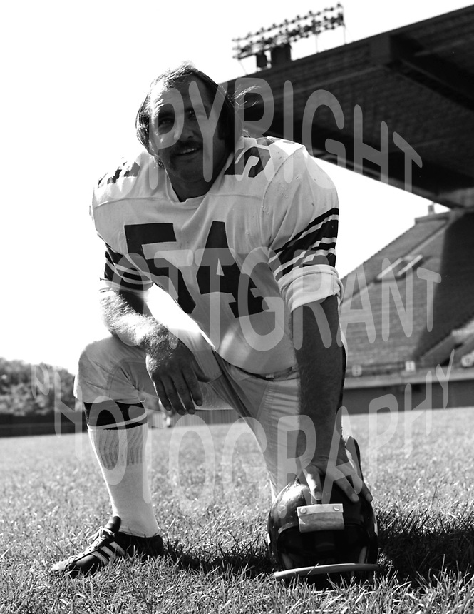 Jerry Campbell Ottawa Rough Riders 1972. Photo Ted  Grant