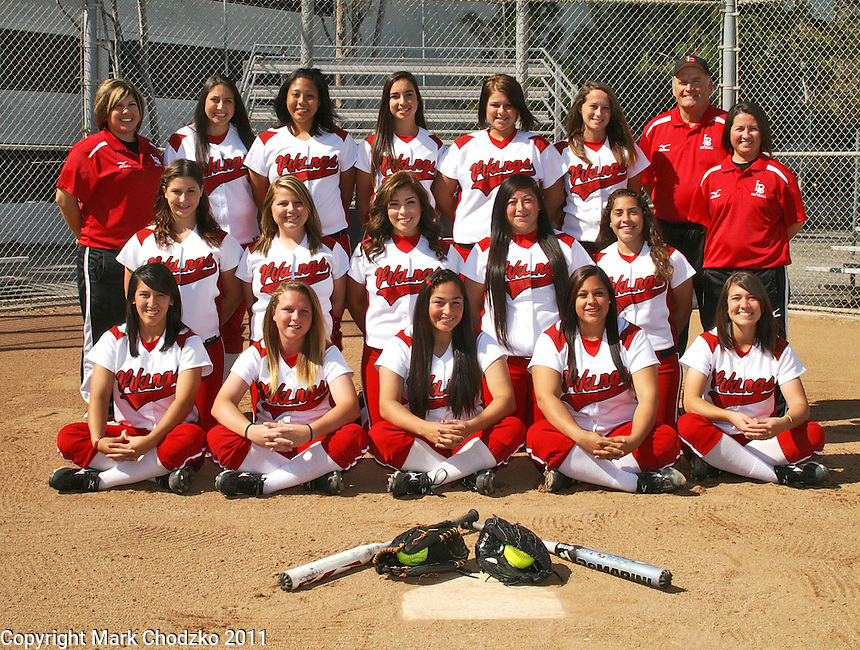 Long Beach State Womens Softball Team photo.