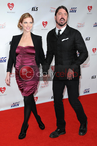 Jordyn Blum and Dave Grohl<br />at the 2009 Musicares Person of the Year Gala. Los Angeles Convention Center, Los Angeles, CA. 02-06-09<br />Dave Edwards/DailyCeleb.com 818-249-4998