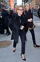 www.acepixs.com<br /> <br /> March 13 2017, New York City<br /> <br /> Actress Gillian Anderson and Jennifer Nadel (R) made an appearance at AOL Build on March 13 2017 in New York City<br /> <br /> By Line: Curtis Means/ACE Pictures<br /> <br /> <br /> ACE Pictures Inc<br /> Tel: 6467670430<br /> Email: info@acepixs.com<br /> www.acepixs.com