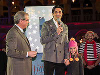 LAS VEGAS, NV - November 20 : John Capraella with Gilles Marini pictured as The Venetian and The Palazzo kick off 2nd annual Winter in Venice on November 20, 2012 at The Venetian in Las Vegas, Nevada.  Credit: Kabik/ Starlitepics / MediaPunch Inc.