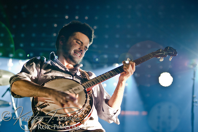 Mumford and Sons begin tour at TD Garden in Boston, Massachusetts