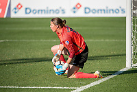 Kansas City, MO - Sunday May 07, 2017: Nicole Barnhart during a regular season National Women's Soccer League (NWSL) match between FC Kansas City and the Orlando Pride at Children's Mercy Victory Field.