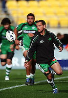 Manawatu first five Aaron Cruden warms up. Air NZ Cup - Wellington Lions v Manawatu Turbos at Westpac Stadium, Wellington, New Zealand. Saturday 3 October 2009. Photo: Dave Lintott / lintottphoto.co.nz