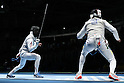 Yuki Ota (JPN), <br /> AUGUST 7, 2016 - Fencing : <br /> Men's Foil Individual second round<br /> at Carioca Arena 3 <br /> during the Rio 2016 Olympic Games in Rio de Janeiro, Brazil. <br /> (Photo by Koji Aoki/AFLO SPORT)