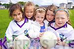 HAVING FUN: Enjoying the GAA Cu?l Camp at Listowel Emmets last week were l-r: Sadhbh Daly, Nadine Moloney, Letitia Shine, Katelyn Corr, Nicole Moloney.