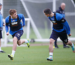 Lewis Macleod and Fraser Aird