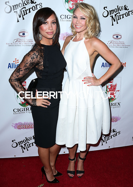 BEVERLY HILLS, CA, USA - SEPTEMBER 13: Cheryl Burke and Kym Johnson arrive at the Brent Shapiro Foundation For Alcohol And Drug Awareness' Annual 'Summer Spectacular Under The Stars' 2014 held at a Private Residence on September 13, 2014 in Beverly Hills, California, United States. (Photo by Xavier Collin/Celebrity Monitor)