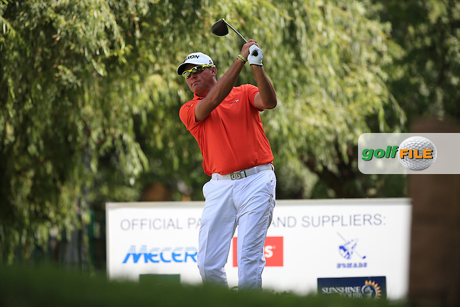 Wallie Coetsee (RSA) in action during Round Three of the 2016 BMW SA Open hosted by City of Ekurhuleni, played at the Glendower Golf Club, Gauteng, Johannesburg, South Africa.  09/01/2016. Picture: Golffile | David Lloyd<br /> <br /> All photos usage must carry mandatory copyright credit (&copy; Golffile | David Lloyd)