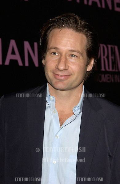 Actor DAVID DUCHOVNY at Premiere Magazine's 9th Annual Women in Hollywood lunch at the Four Seasons Hotel, Beverly Hills..16OCT2002.  © Paul Smith / Featureflash