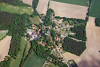 Rundling Dalldorf bei Uelzen: EUROPA, DEUTSCHLAND,  NIEDERSACHSEN(EUROPE, GERMANY), 14.05.2018: Rundling Dalldorf bei Uelzen