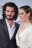 Actress Blanca Suarez and actor Yon Gonzalez pose during `Perdiendo el Norte´ film premiere photocall in Madrid, Spain. March 05, 2015. (ALTERPHOTOS/Victor Blanco)