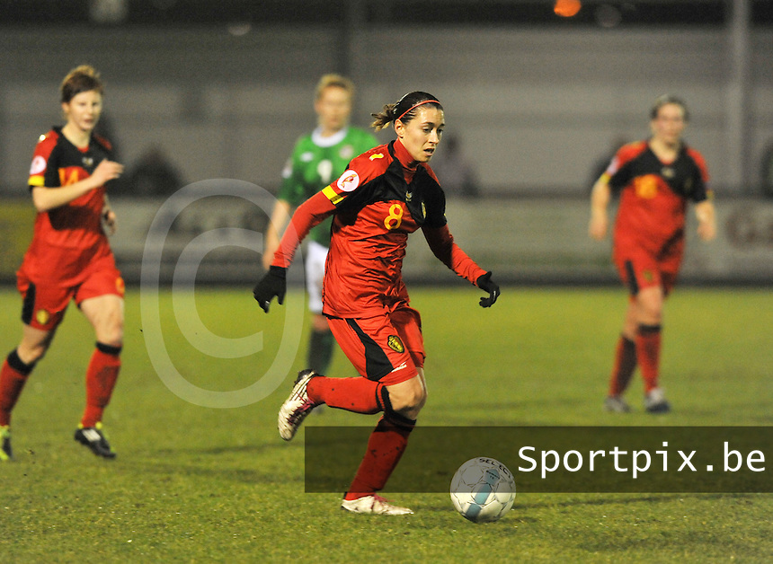 UEFA Women's Euro Qualifying group stage (Group 3) -  KFC Dessel - Armand Melis Stadion : BELGIUM -Northern Ireland ( Belgie - Noord Ierland ) : Audrey Demoustier..foto DAVID CATRY / Vrouwenteam.be / Loft6.be