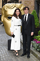 Stephen Mangan &amp; wife Louise Delamere at the BAFTA Television Craft Awards 2017 held at The Brewery, London, UK. <br /> 23 April  2017<br /> Picture: Steve Vas/Featureflash/SilverHub 0208 004 5359 sales@silverhubmedia.com