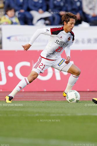 Kazuaki Mawatari (Zweigen), MARCH 20, 2016 - Football /Soccer : 2016 J2 League match between FC Machida Zelvia 2-1 Zweigen Kanazawa at Machida Stadium in Tokyo, Japan. (Photo by Yusuke Nakanishi/AFLO SPORT)