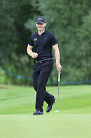 Scott Henry (SCO) on the 3rd green during Sunday's Final Round of the Northern Ireland Open 2018 presented by Modest Golf held at Galgorm Castle Golf Club, Ballymena, Northern Ireland. 19th August 2018.<br /> Picture: Eoin Clarke | Golffile<br /> <br /> <br /> All photos usage must carry mandatory copyright credit (&copy; Golffile | Eoin Clarke)