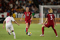 Carson, CA - Thursday August 03, 2017: Allie Long during a 2017 Tournament of Nations match between the women's national teams of the United States (USA) and Japan (JPN) at the StubHub Center.