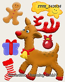 Isabella, CHRISTMAS ANIMALS, WEIHNACHTEN TIERE, NAVIDAD ANIMALES, paintings+++++,ITKE543036,#xa# ,sticker,stickers