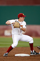 Matt Cusick of the USC Trojans during a game against the Tulane Green Wave at Dedeaux Field on February 25, 2007 in Los Angeles, California. (Larry Goren/Four Seam Images)