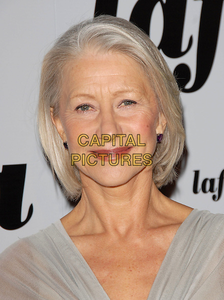 HELEN MIRREN.attends The 32nd Annual Los Angeles Film Critics Association Awards (LAFCA) held at The InterContinental Los Angeles in Century City, California, USA, .January 14 th 2007..portrait headshot pale grey silver dress dame .CAP/DVS.©Debbie VanStory/Capital Pictures