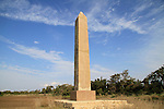 Israel, Israel, Caesarea, the Egyptian Obelisk at the Roman Hippodrome