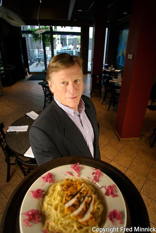 Doug Gossman owns the Bristol Bar & Grille. The Bristol celebrates its 30th anniversary this year.