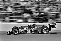 INDIANAPOLIS, IN - MAY 28: Danny Ongais drives his Parnelli VPJ6B/VPJ Cosworth during the Indy 500 at the Indianapolis Motor Speedway in Indianapolis, Indiana, on May 28, 1978.