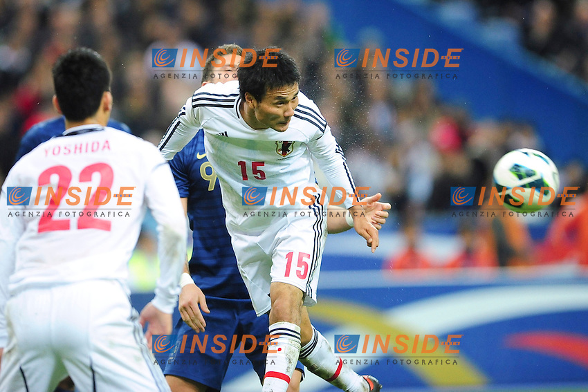 Yasuvuki Konno (Jpn) .Parigi 12/10/2012 .Football Calcio Amichevole.Francia Vs Giappone.Foto Panoramic / Insidefoto.ITALY ONLY