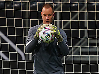 Torwart Marc-Andre ter Stegen (Deutschland Germany) - 18.11.2019: Deutschland Abschlusstraining, Commerzbank Arena Frankfurt, EM-Qualifikation DISCLAIMER: DFB regulations prohibit any use of photographs as image sequences and/or quasi-video.