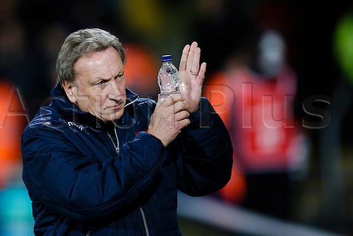 03.11.2014.  London, England. Premier League. Crystal Palace versus Sunderland.  Crystal Palace manager Neil Warnock