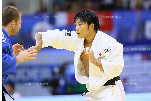 Masashi Nishiyama (JPN), <br /> AUGUST 30, 2013 - Judo : <br /> 2013 Judo World Championships Rio de Janeiro <br /> Men's -90kg <br /> at Maracanazinho Arena, Rio de Janeiro, Brazil. <br /> (Photo by YUTAKA/AFLO SPORT) [1040]