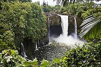 Waterfall on the Big Island of Hawaii