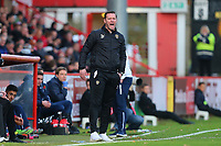 Notts County manager Kevin Nolan during Stevenage vs Notts County, Sky Bet EFL League 2 Football at the Lamex Stadium on 11th November 2017