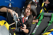 Anisa Tasmin, Engineering Club at Little Ilford School, Newham, London.