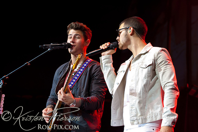 Jonas Brothers perform at Mohegan Sun July 23, 2013