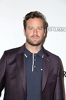 "LOS ANGELES - FEB 19:  Armie Hammer at the ""Final Portrait"" Los Angeles Screening at the Pacific Design Center on February 19, 2018 in West Hollywood, CA"