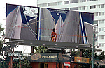 """Yes billboard on Sunset Strip for album """"Going  For th e One"""" circa 1977"""