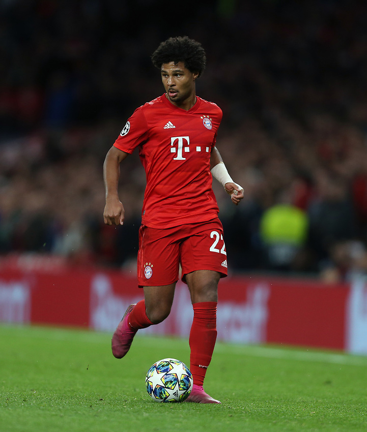 Bayern Munich's Serge Gnabry<br /> <br /> Photographer Rob Newell/CameraSport<br /> <br /> UEFA Champions League Group B  - Tottenham Hotspur v Bayern Munich - Tuesday 1st October 2019 - White Hart Lane - London<br />  <br /> World Copyright © 2018 CameraSport. All rights reserved. 43 Linden Ave. Countesthorpe. Leicester. England. LE8 5PG - Tel: +44 (0) 116 277 4147 - admin@camerasport.com - www.camerasport.com