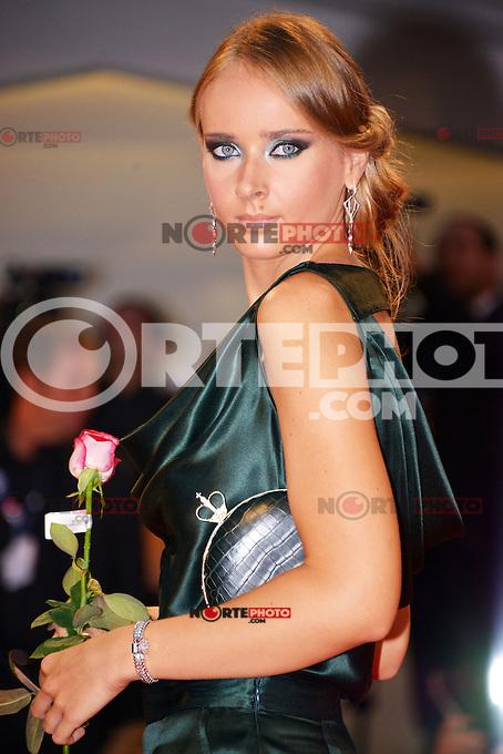 August 30, 2012: Olga Sorokinai attends the &quot;Superstar&quot; Screening during the 69th Venice International Film Festival at Palazzo del Casino in Venice, Italy..Credit: &copy; F2F / MediaPunch Inc. /NortePhoto.com<br /> <br /> **CREDITO*OBLIGATORIO** <br /> *No*Venta*A*Terceros*<br /> *No*Sale*So*third*<br /> *** No*Se*Permite*Hacer*Archivo**<br /> *No*Sale*So*third*