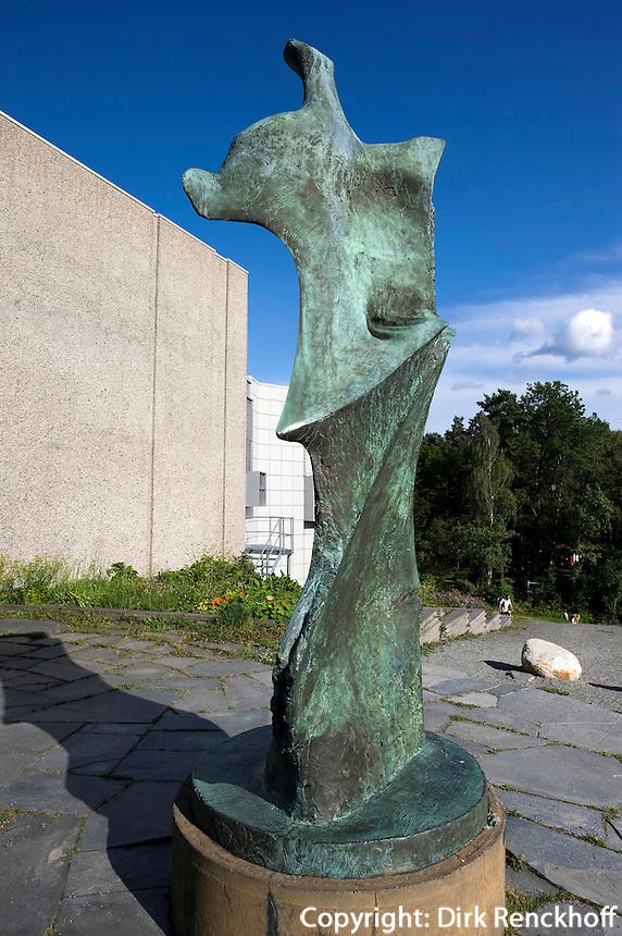 Norwegen, Oslo, Gallerie Henie-Onstad Center, Plastik Henry Moore