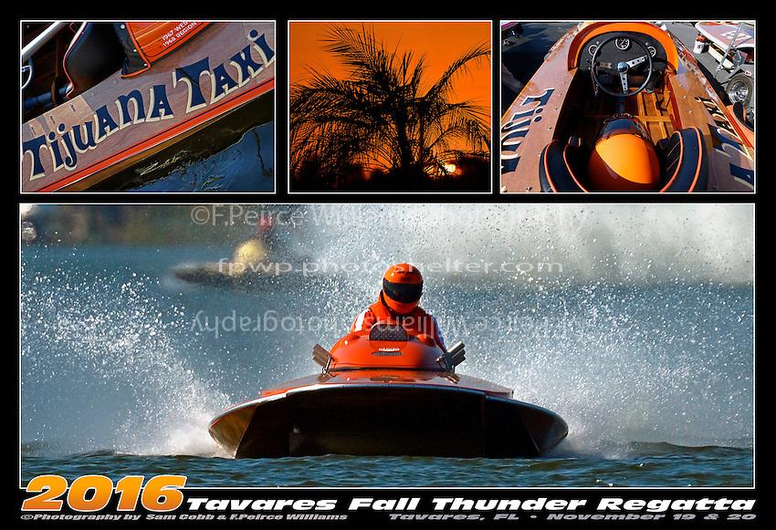 """Jay Marshall, E-102 """"Tijuana Taxi"""" (1966 Hallet 280 class hydroplane)"""